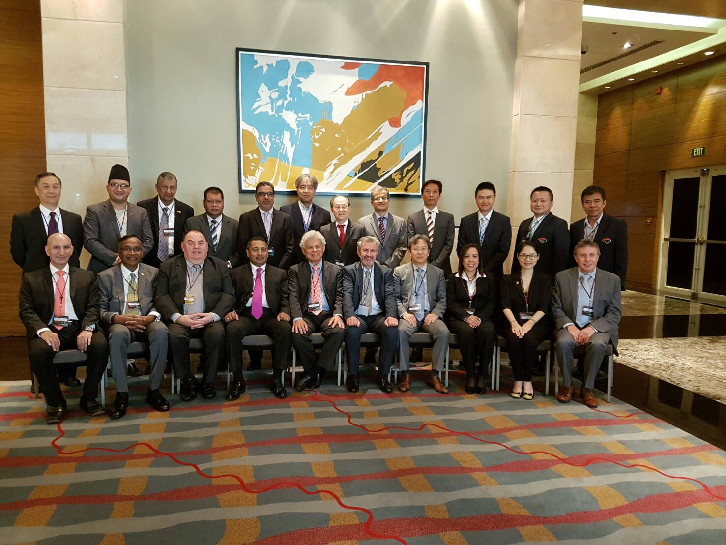 TAFA by TAFA Chairman and TAFA Manager participated the FAPAA 43rd Executive Council & Annual General Meeting at Manila, Philippines from 11 to 12 July 2016.
